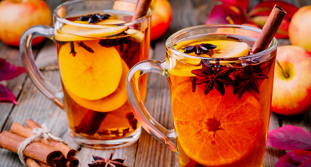 Hot Cinnamon Orange Cider