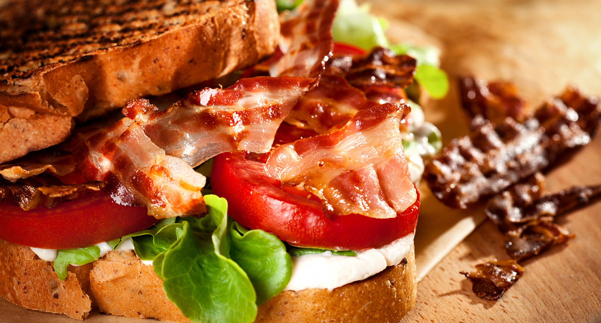 BLTs with Horseradish Sauce