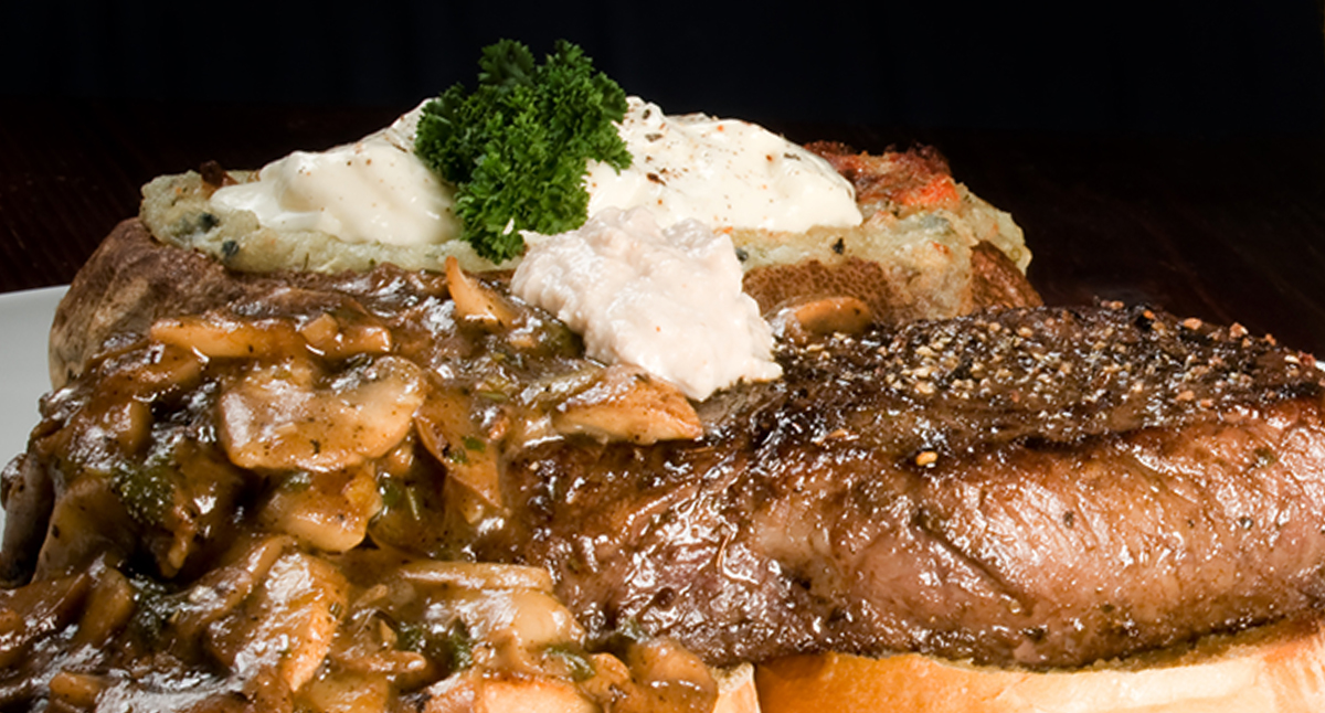 Steak with Horseradish